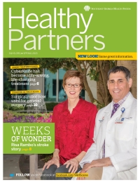 SGHS Healthy Partners Magazine Spring 2015 Edition